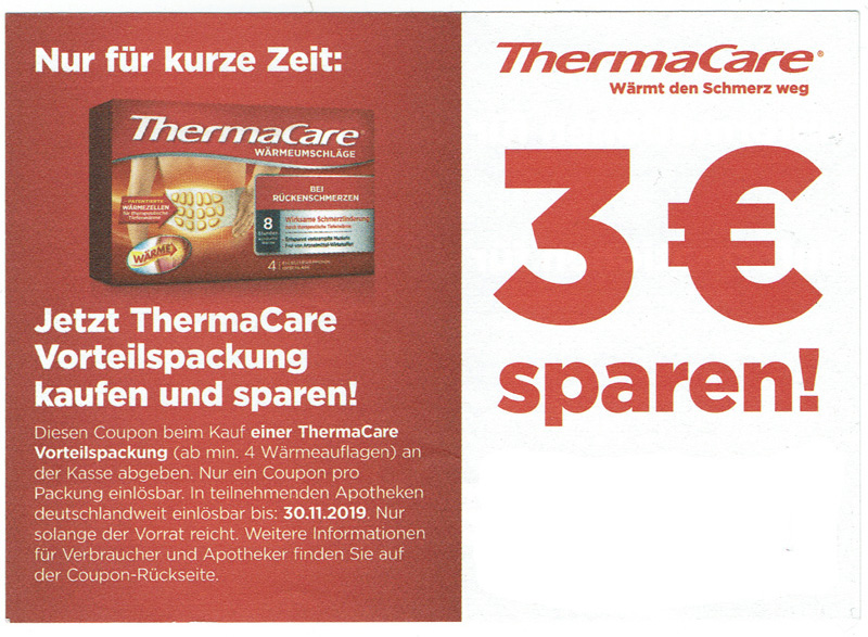 thermacare 3Ea